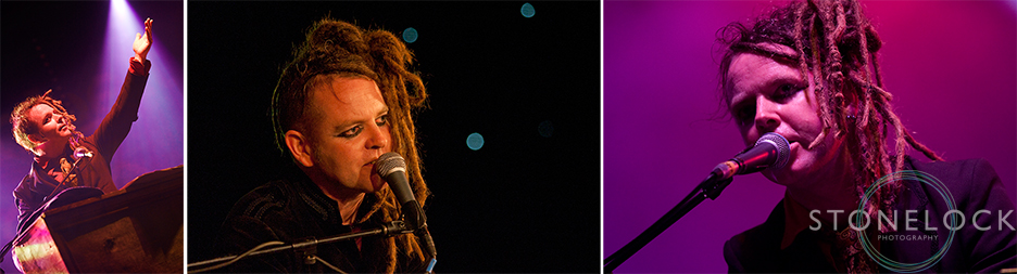 Duke Special Perform in the Performance Cafe at Greenbelt Arts Festival