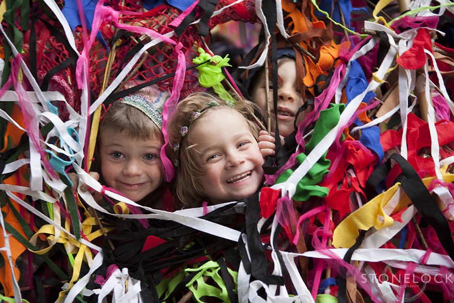 Kids play at Greenbelt Arts Festival at Boughton House