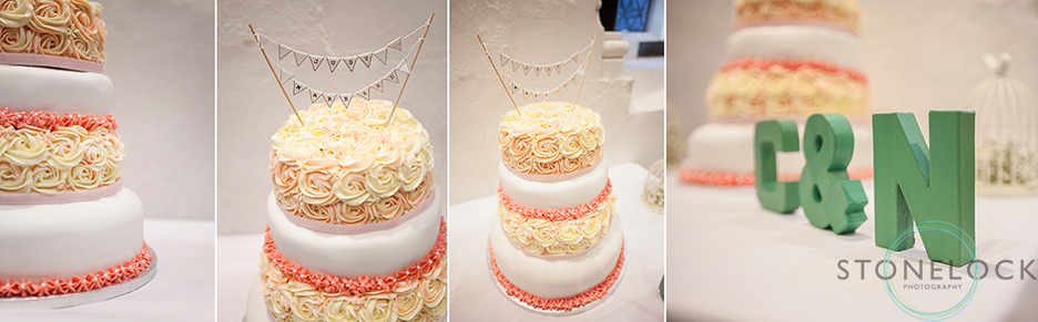 Photos of the wedding cake