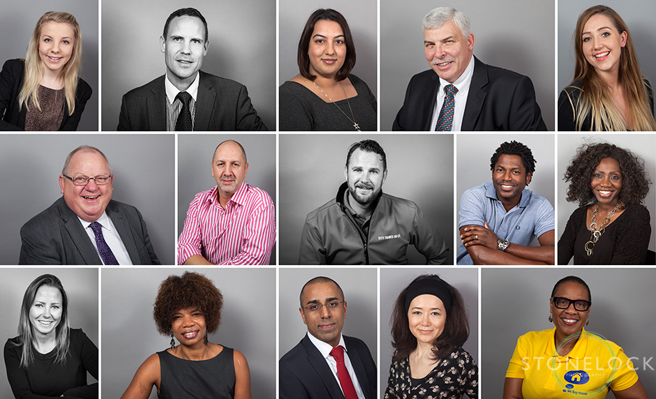 Professional profile photos and head shots for business shot at We Mean Business Expo in Croydon in 2014