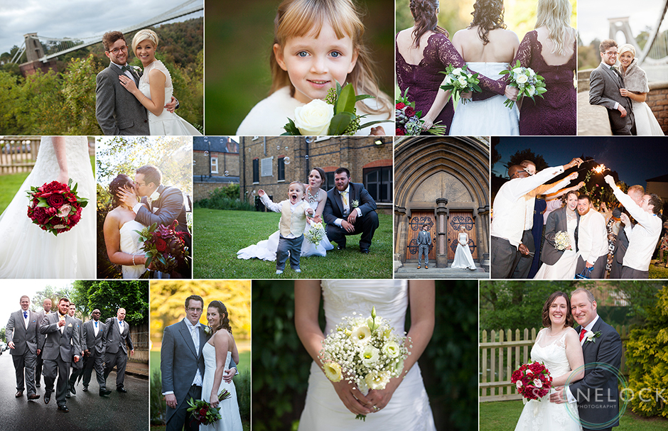 A collage of our favourite wedding photos from 2014