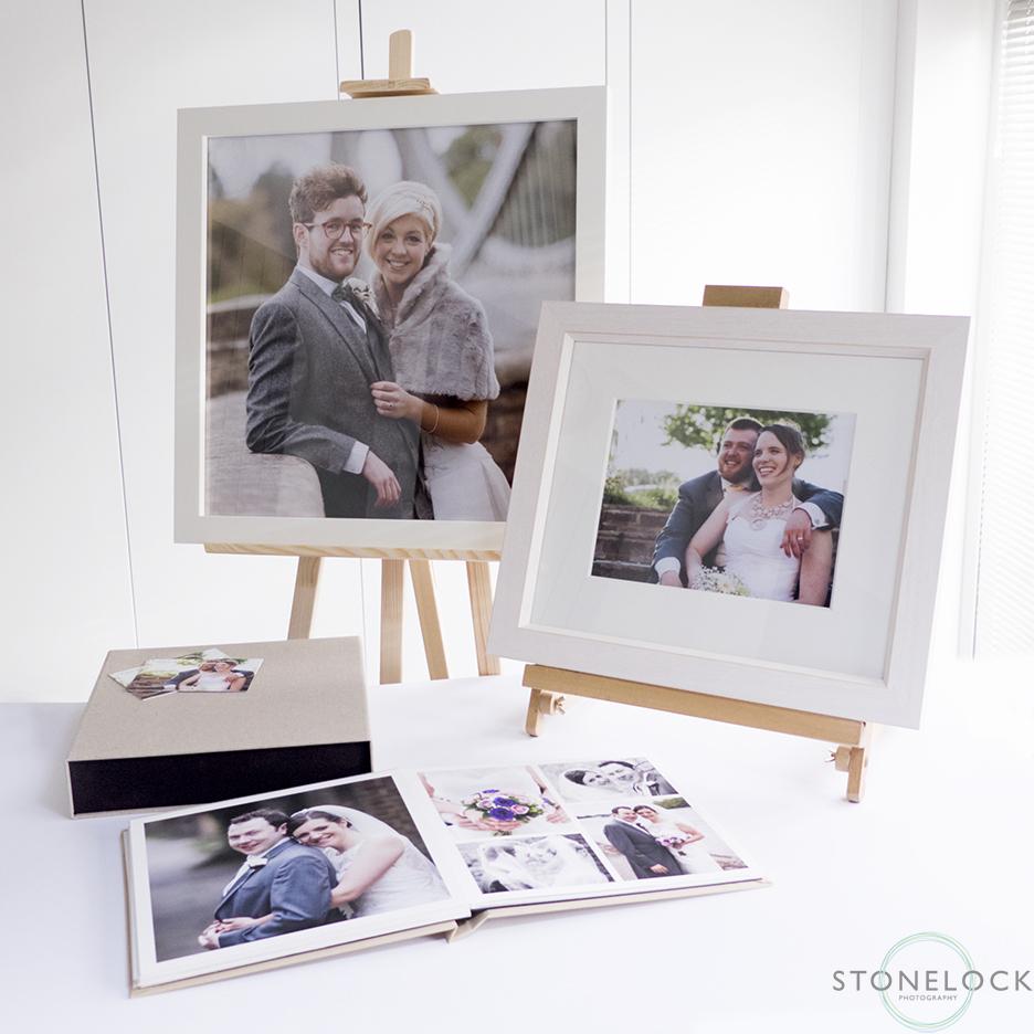 The Oaks, Carshalton, Surrey, wedding fair Stonelock Photography's stand