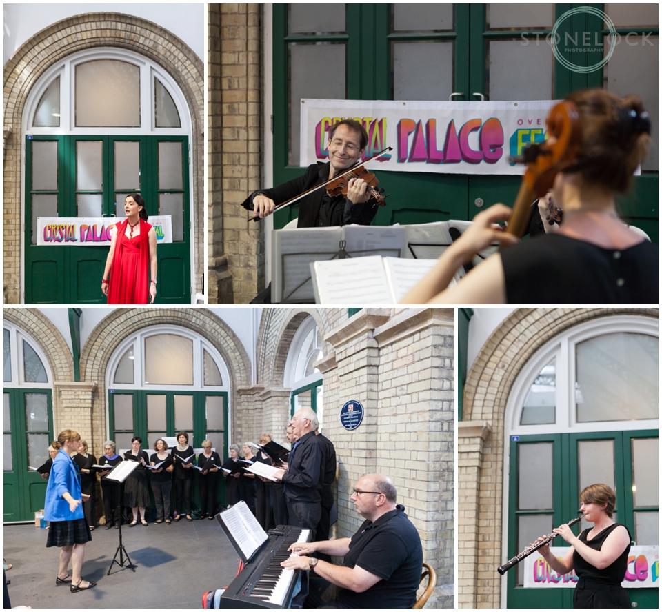 Soundtracks III at Crystal Palace Railway Station as part of the Crustal Palace Overground Festival