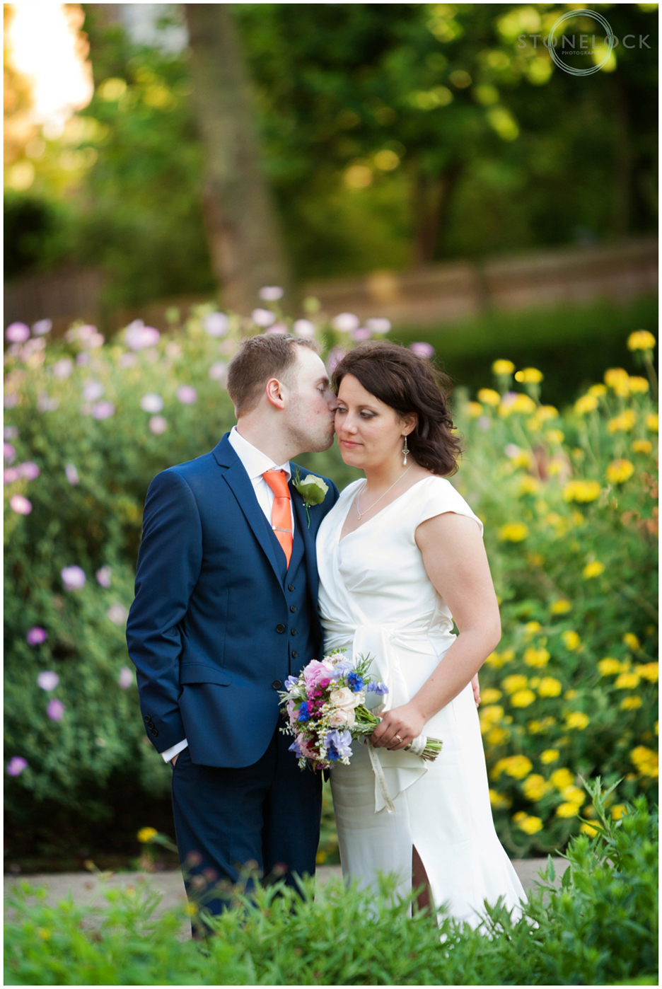 Wedding Photography in St Martin's Garden, Camden, North London