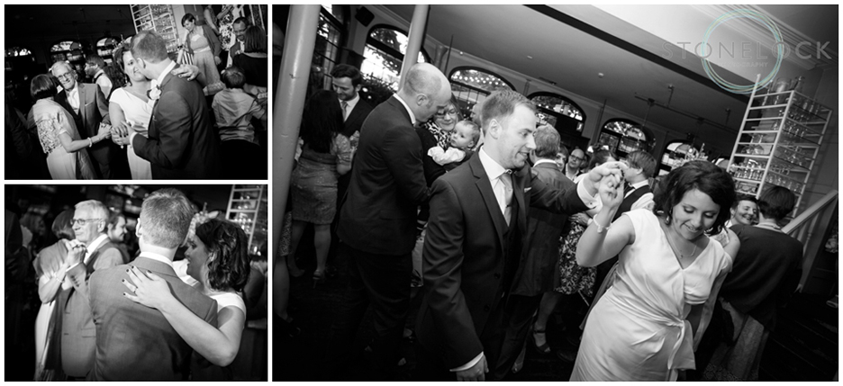 The first dance at the Prince Albert Pub in Camden, North London