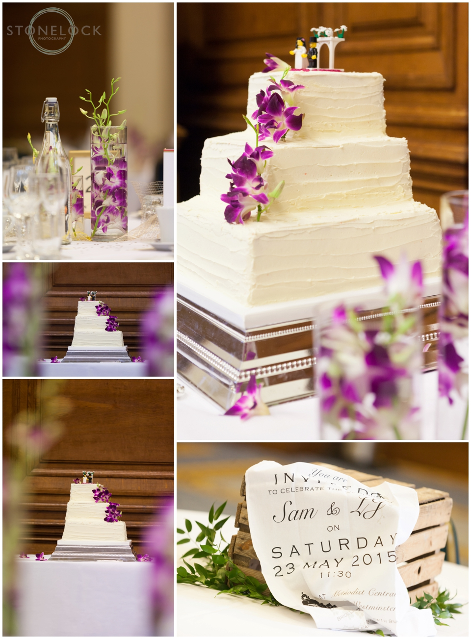 The wedding cake at Methodist Central Hall Westminster