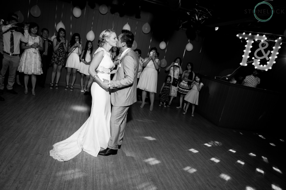 First dance at Westminster Boating Base