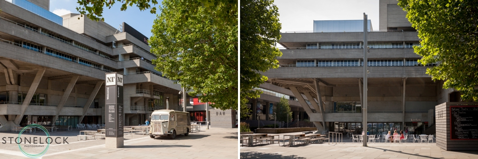 The National Theatre on London's Southbank