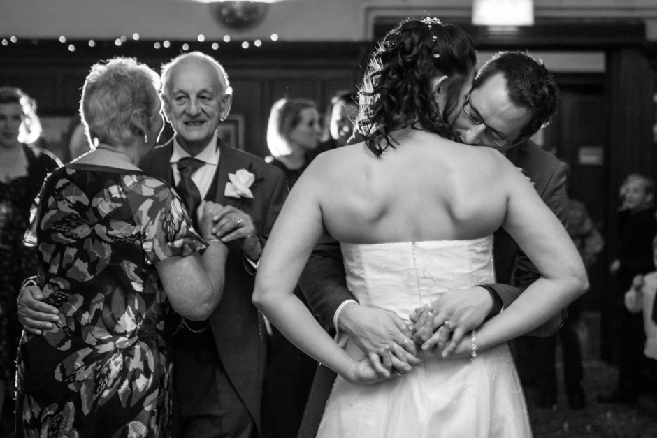 The Bride & Groom share their first dance