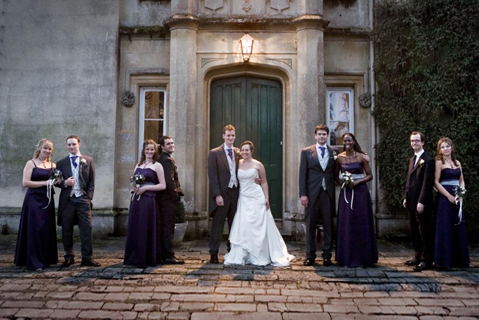 Alternative Bridal party photos