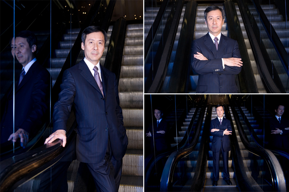 Joseph Wan, former Chief Executive of Harvey Nichols | Professional headshot photography in London