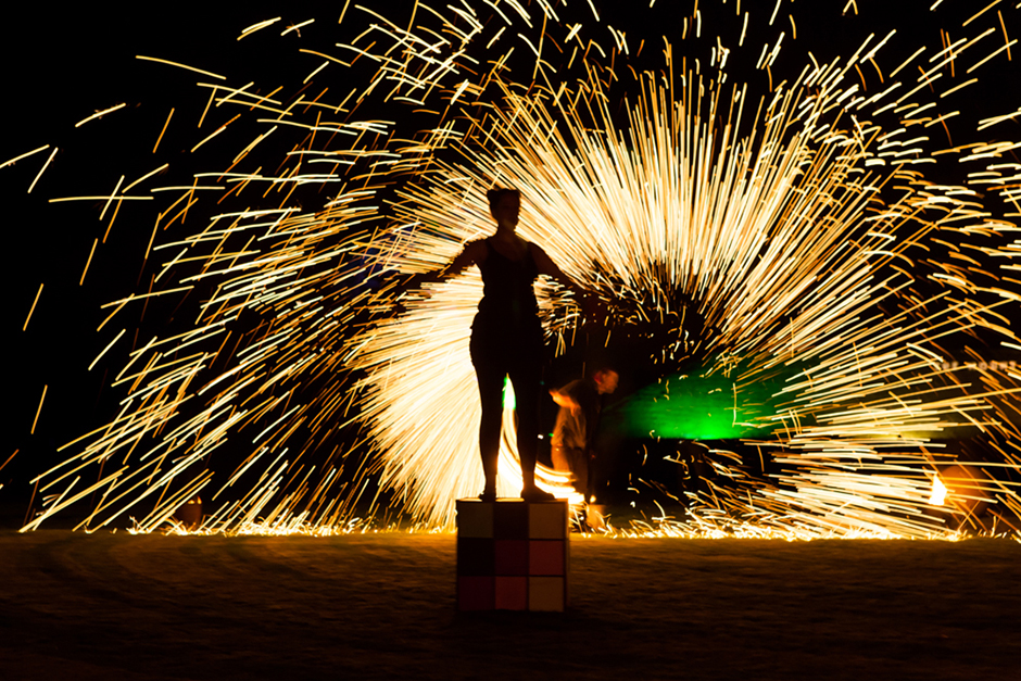 Corporate and event photography, Greenbelt Arts festival fire show