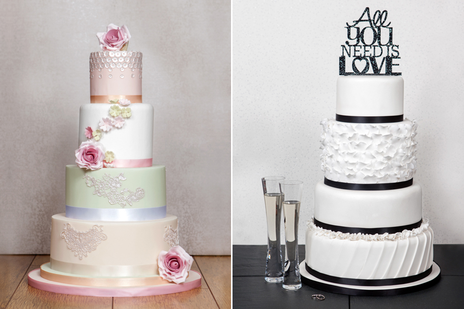 Product photography, wedding cakes by Cakes by Caroline
