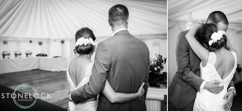 The first dance at Ramside Hall in Durham