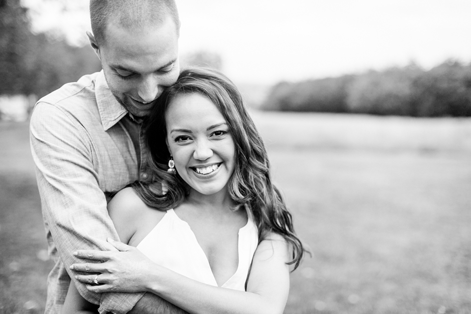 Engagement photo shoot at the Rookery on Streatham Common in London