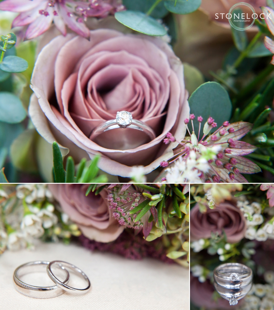 Beautiful wedding & engagement ring photography
