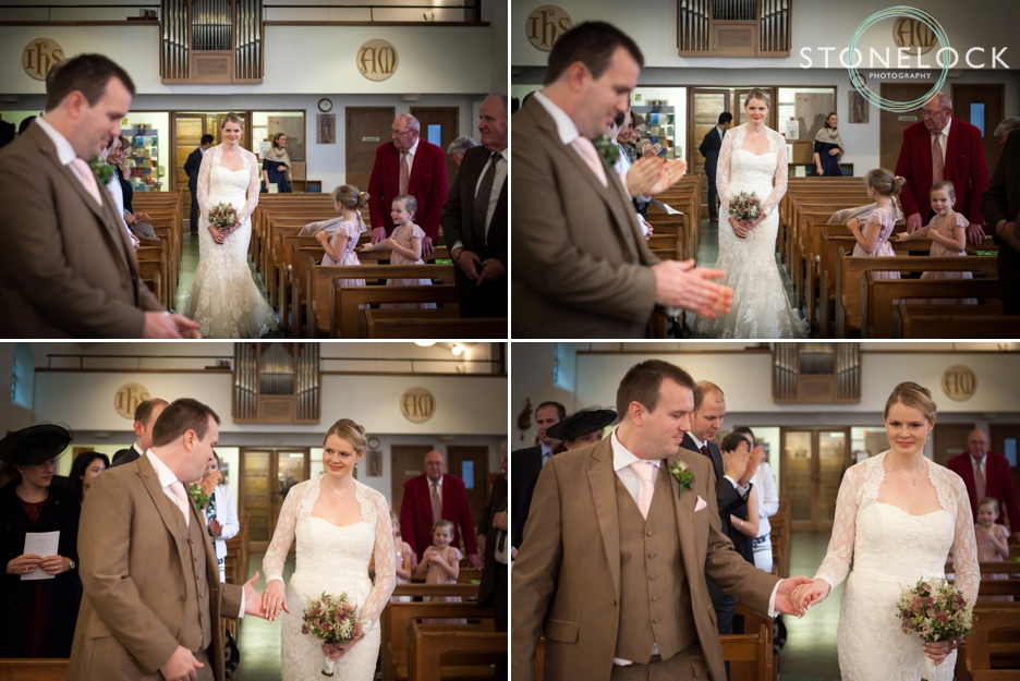 Wedding Photography at St Ann's Church, Kingston Hill