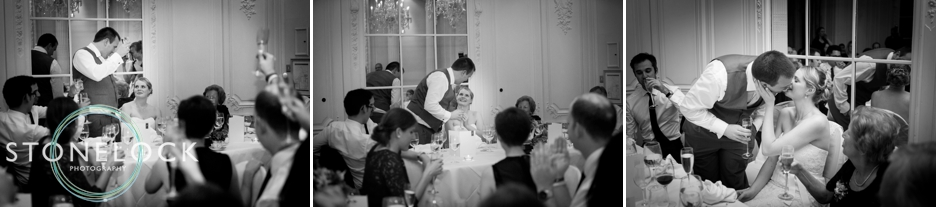 Wedding speeches at Warren House, Kingston