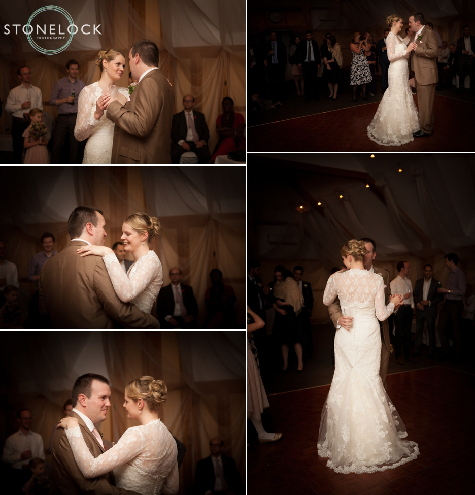 Wedding Photography at Warren House, Kingston: The first dance