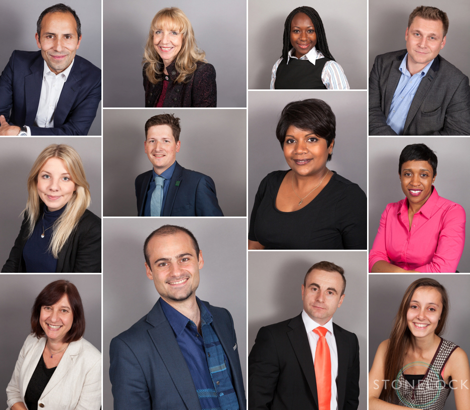 Business & corporate headshot photography in Croydon at the We Mean Business Expo 2015