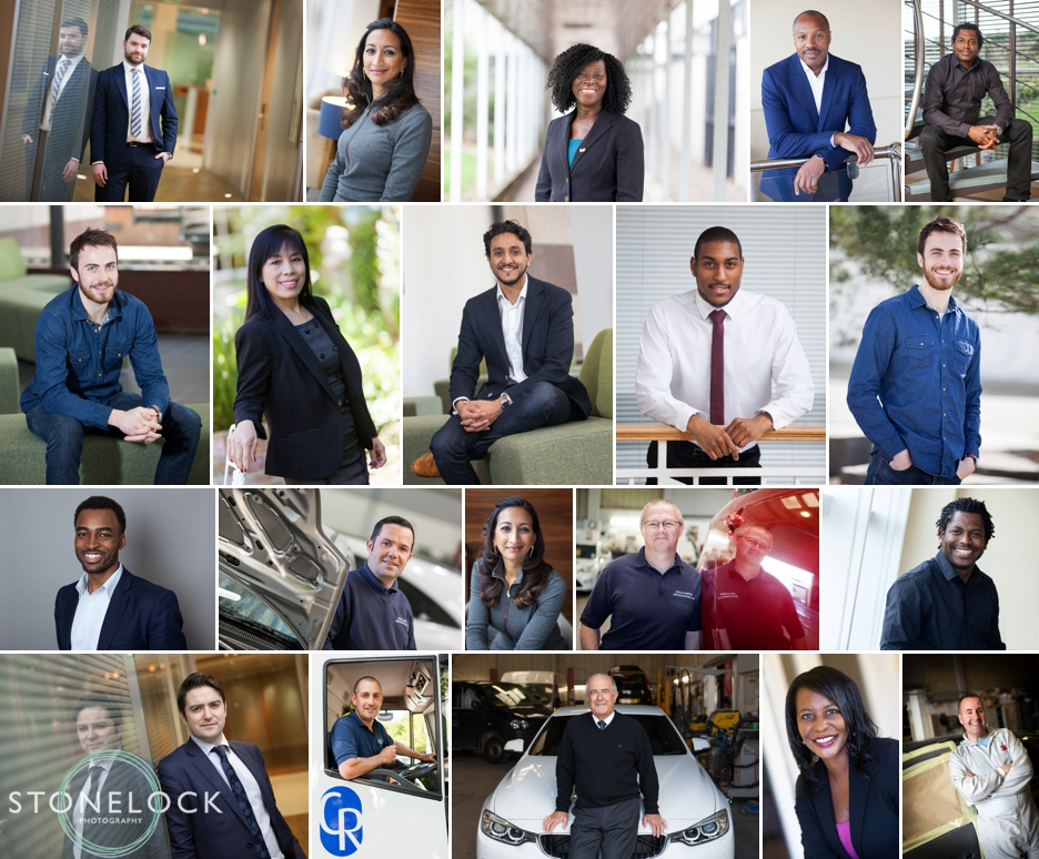 Business and corporate headshot photography in Croydon and London