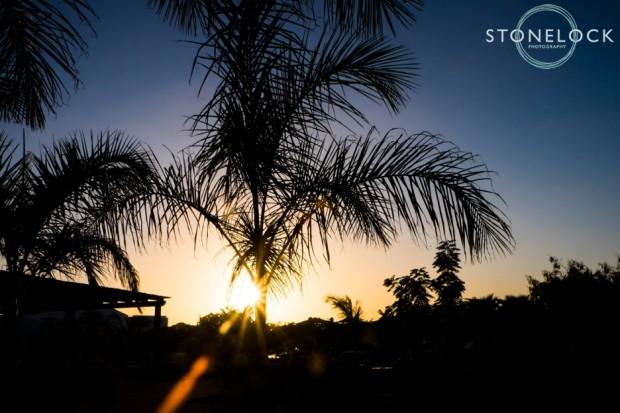 Sunset on Sal Island, Santa Maria, Cape Verde