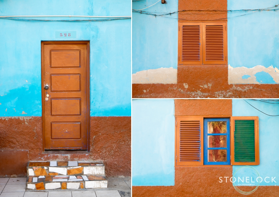 Doors & windows in Santa Mara on Sal Island in Cape Verde