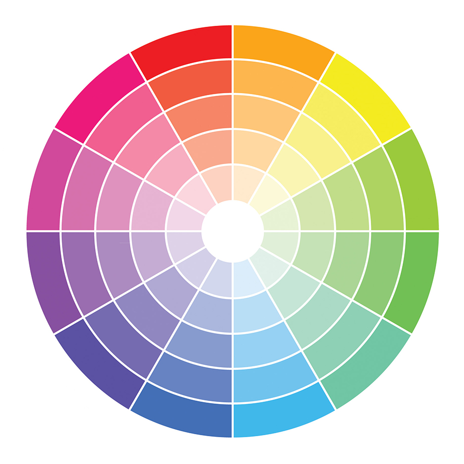 The colour wheel - what colours to wear for your engagement photo shoot