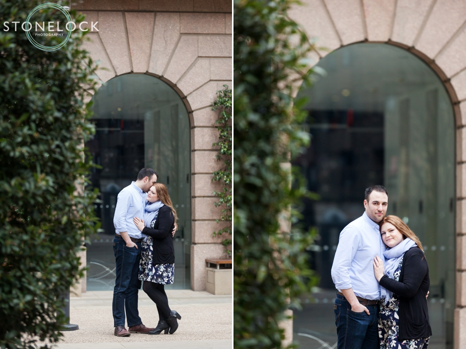 Devonshire Square, Liverpool Stree, London, Engagement photo shoot