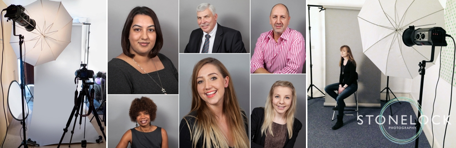 Studio & location professional headshot photography, Croydon, London