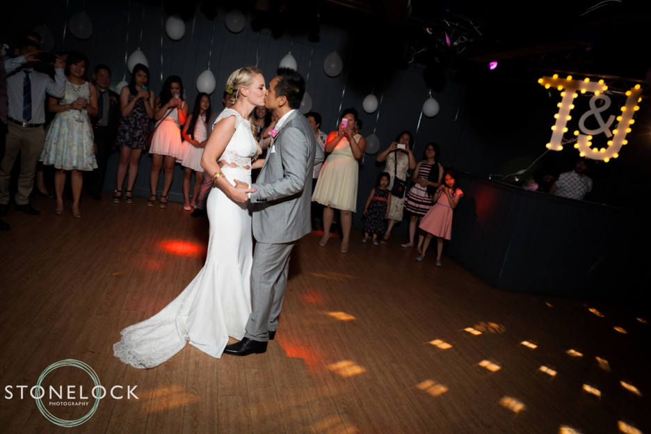 A Guide to Your Wedding Day Timeline: The Bride & Groom's first dance