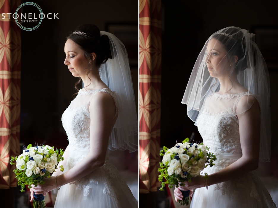 Beautiful portraits of the bride