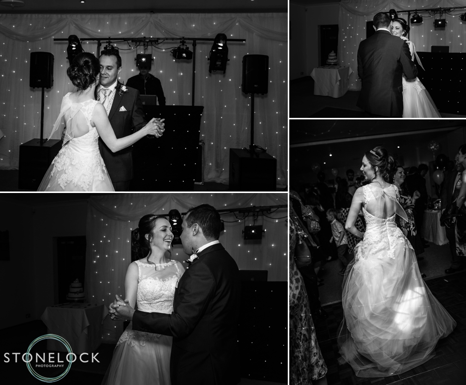 The first dance at Reigate HIll Golf Club