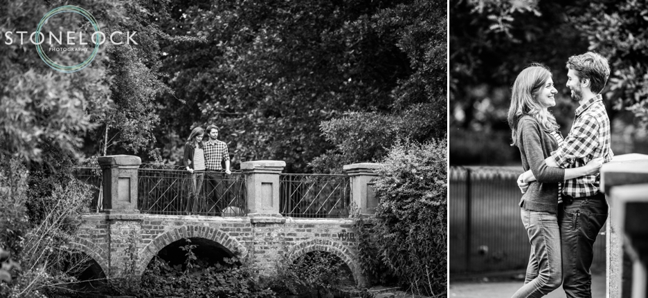 Engagement photo shoot in London, Surrey