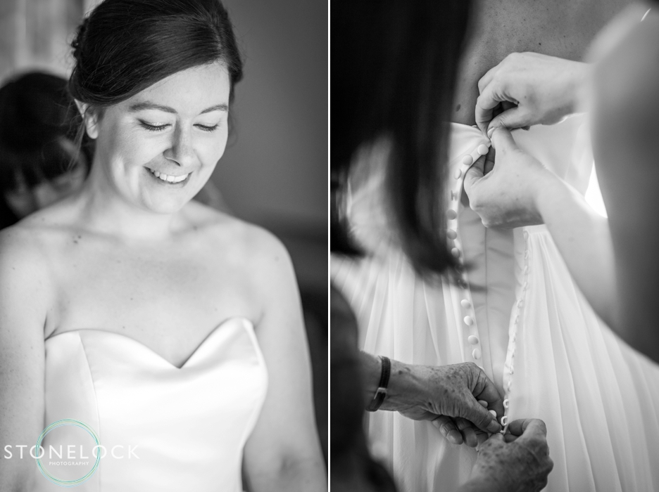 The bride getting ready before her wedding, wedding photography