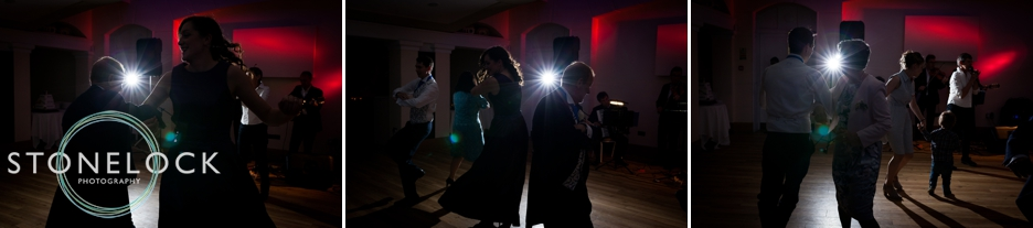 Dancing at a wedding at Pembroke Lodge in Richmond Park, wedding photography