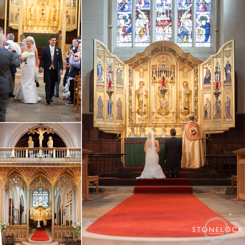 Wedding photography at All Saints Church in Carshalton