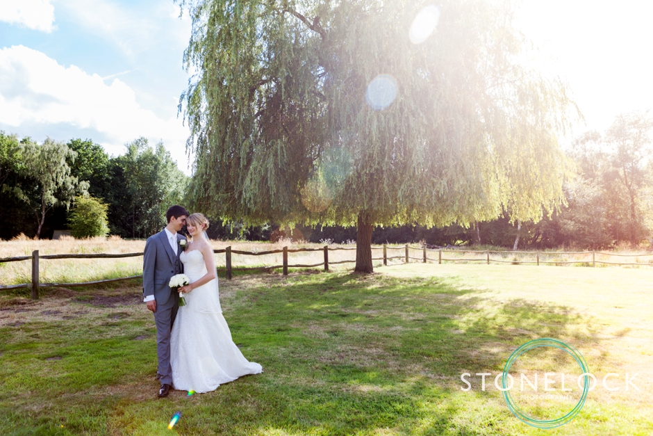 Wedding Photography in Surrey, bride & groom portraits