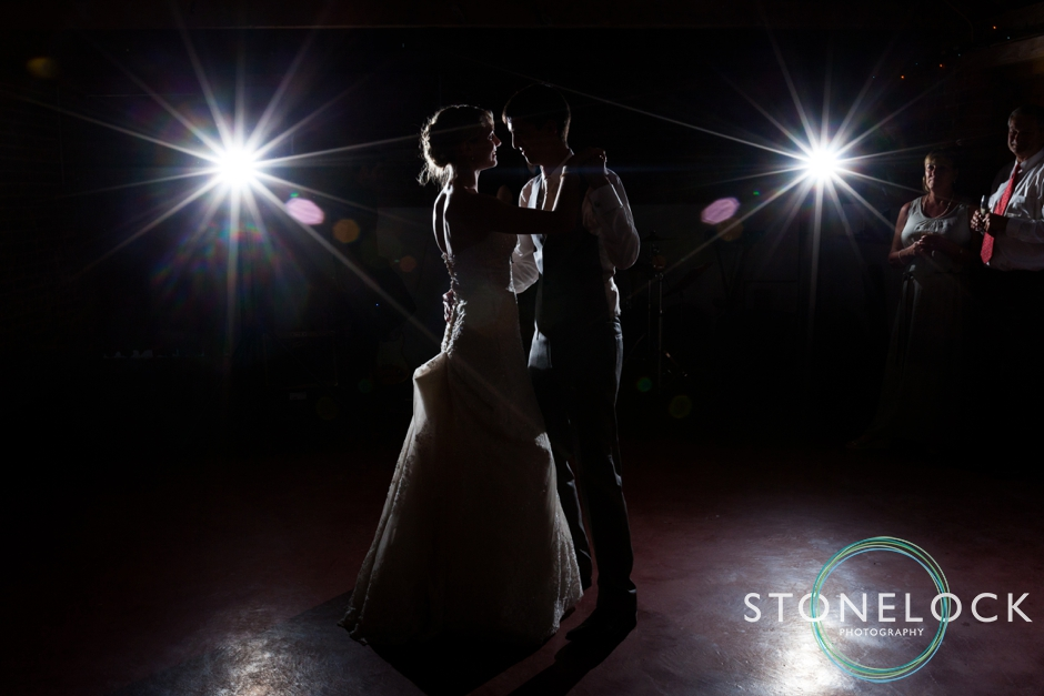 Surrey wedding photography first dance