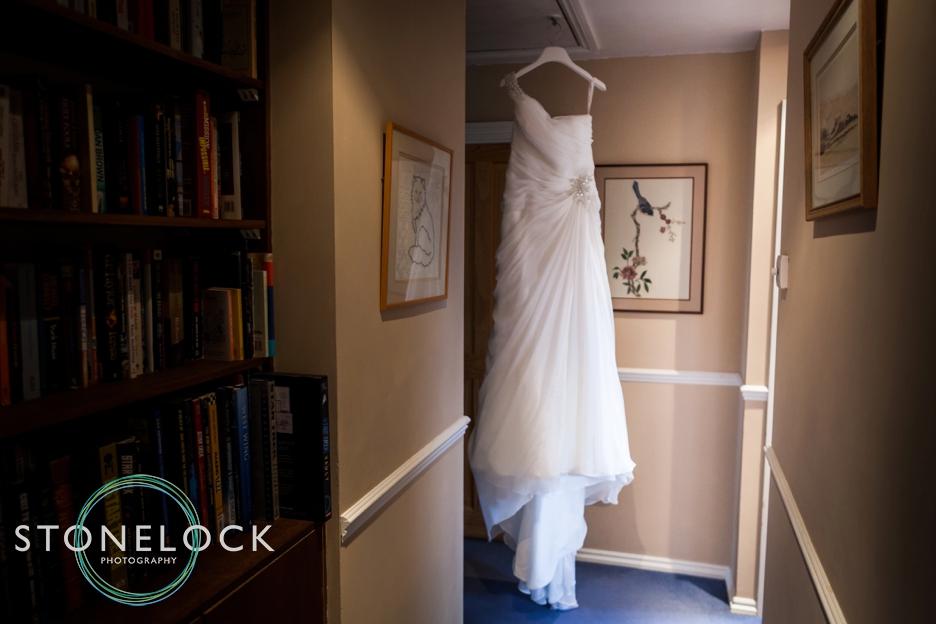 Bridal prep photography at a Hampshire wedding