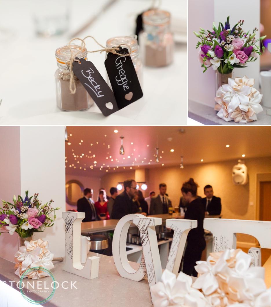 Wedding reception at Three choirs Vineyard in Wickham, Hampshire
