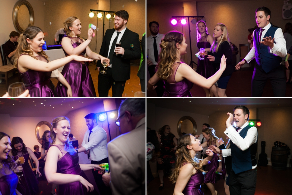 Wedding reception at Three choirs Vineyard in Wickham, Hampshire, the dancing