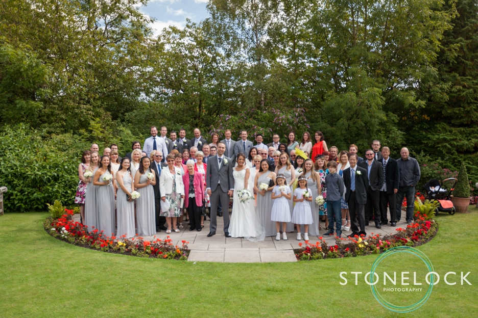 Group & family wedding photography