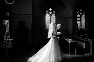Top tips for great wedding photography, bride walking down the aisle with her father