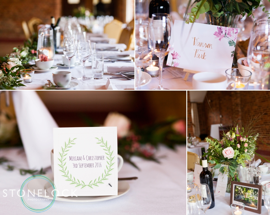 The wedding reception at Forty Hall in Enfield, London