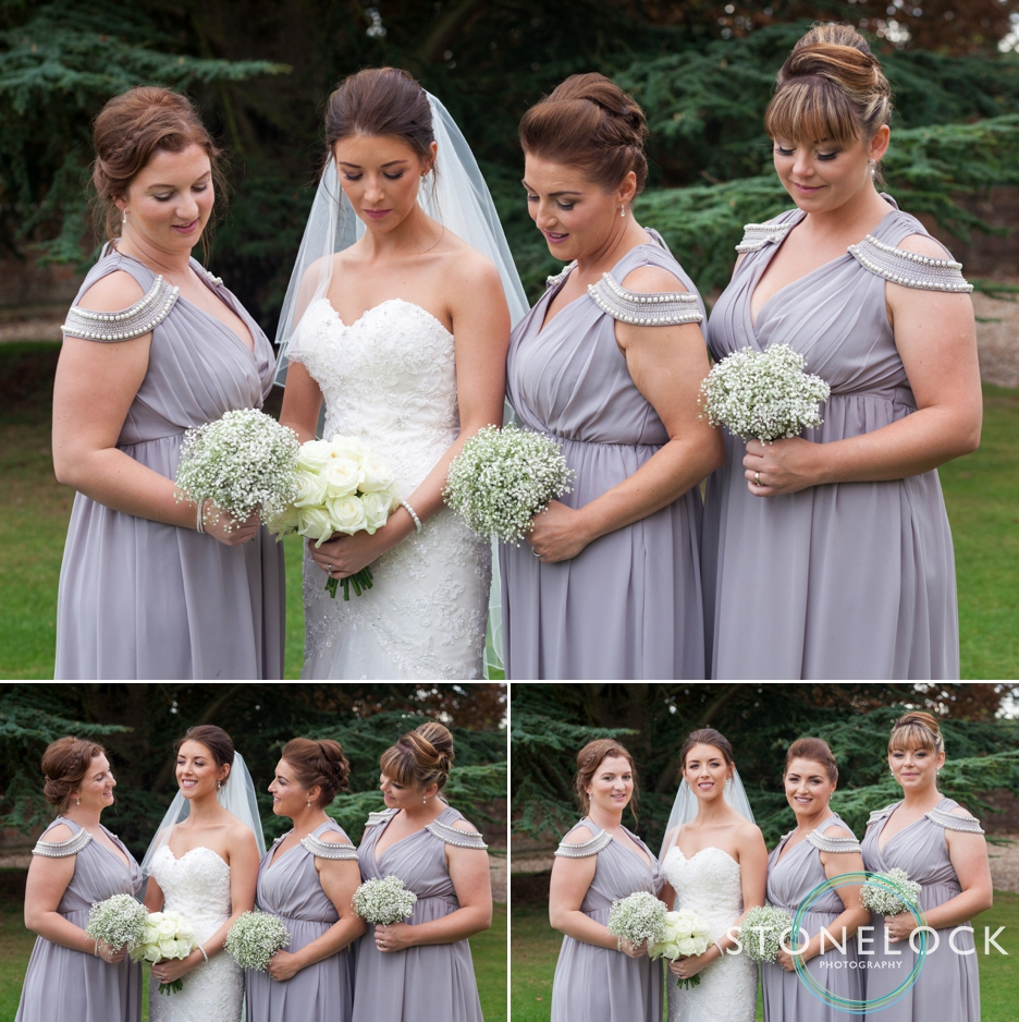 Farnham Castle, Surrey, Wedding photography, bride & bridesmaids