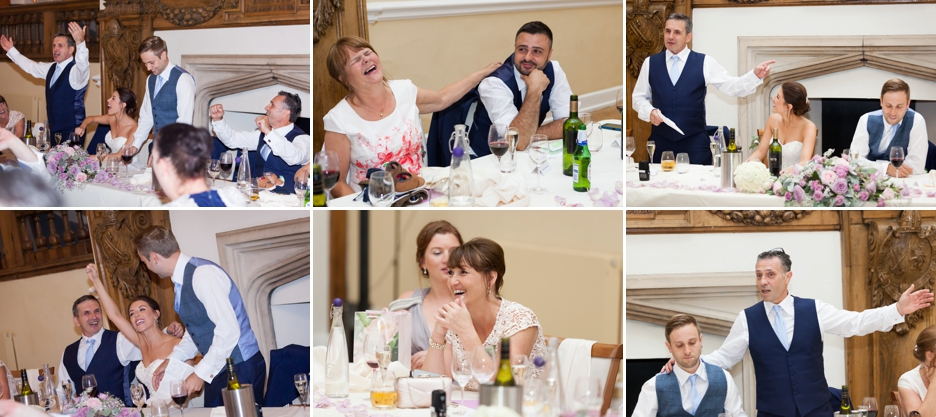 Farnham Castle, Surrey, Wedding photography, speeches