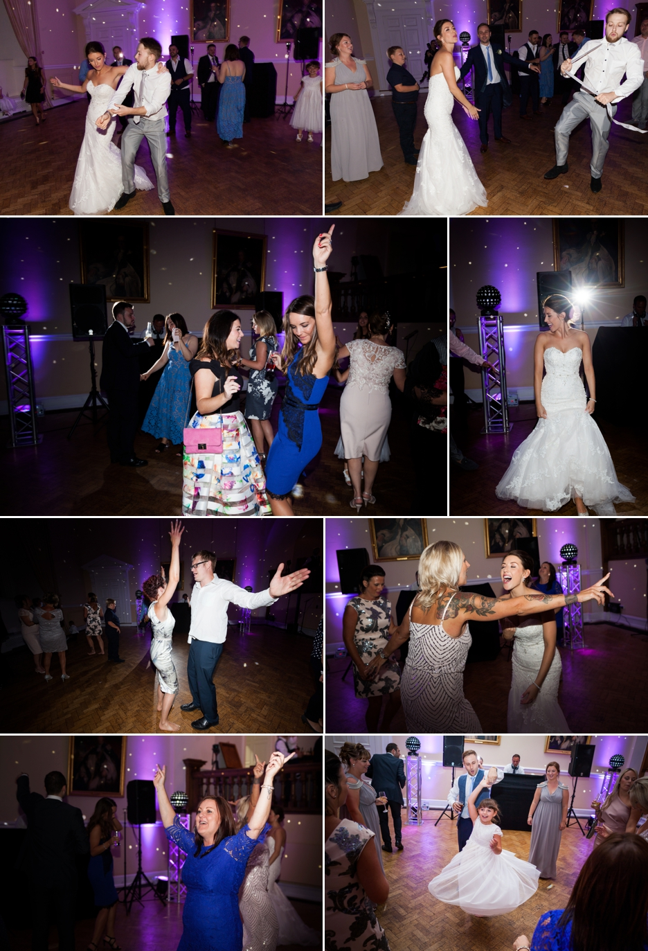 Farnham Castle, Surrey, Wedding photography, evening reception