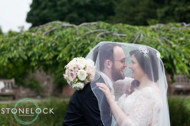 Bride & Groom portrait at a London Wedding