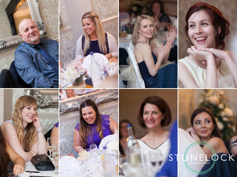 Wedding photography at the reception at The Grange in Rickmansworth